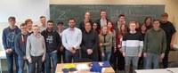 Ehemaliger Schüler unseres Wirtschaftsgymnasiums berät Informatik-Leistungskurse
