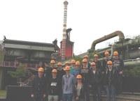 Auf den Spuren von Kohle und Stahl: Die GY44 zu Gast bei ThyssenKrupp