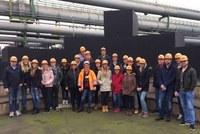 Die GY32 zu Besuch an Europas größtem Stahlstandort: ThyssenKrupp Steel in Duisburg