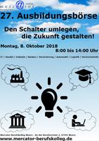 27. Ausbildungs- und Studienbörse am Mercator Berufskolleg