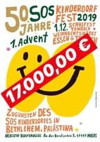 DANKE - DANKE - DANKE: 17.000,- €