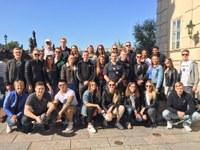Klassenfahrt der Industriekaufleute IN81 und IN82 nach Prag