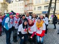 One Billion Rising: Auch Kolleginnen protestieren tanzend