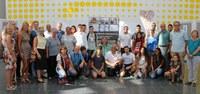 Schüler aus Ramla und Moers eröffneten Ausstellung zu einem Kunstprojekt
