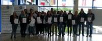 Zertifizierung erfolgreich abgeschlossen – Schüler lernen freiwillig