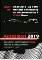 13. Autosalon am Mercator Berufskolleg am 20.09.2019