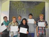 DELF-Zertifikate 2011 verliehen