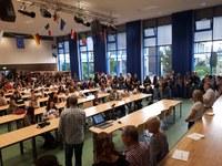 Schulbeginn - viele neue Schülerinnen und Schüler